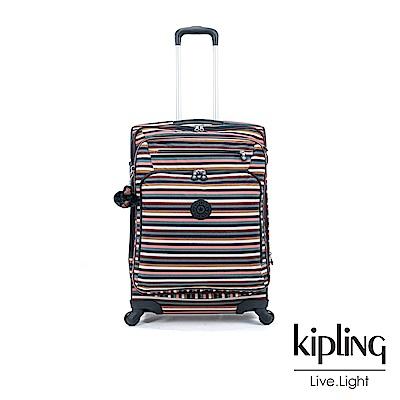 Kipling 繽紛仲夏條紋27吋行李箱-YOURI SPIN 68