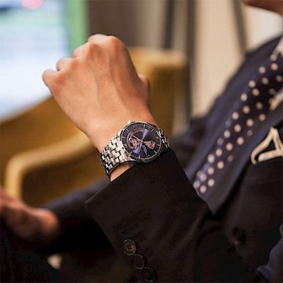 Hamilton 漢米爾頓 JAZZMASTER 爵士開心機械錶-藍/42mm
