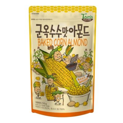 韓國Toms Gilim 杏仁果烤玉米(210g)