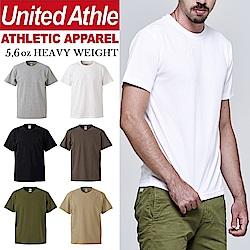 日本United Athle 5.6oz經典重磅短T 亞規 素T UA冠軍