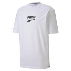 PUMA-女性流行系列Evide短袖T恤-白色-歐規