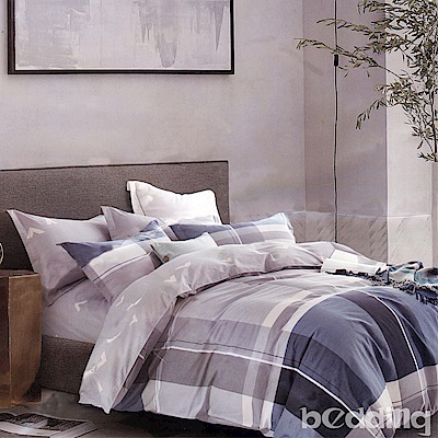 BEDDING-100%棉雙人鋪棉床包兩用被套四件組-同桌的你
