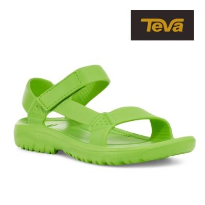【TEVA】原廠貨 男 Hurricane Drift 水陸輕量涼鞋/雨鞋/水鞋(螢光綠-TV1100270JGRN)