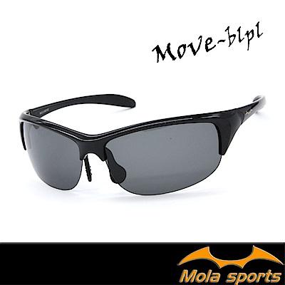 MOLA摩拉偏光運動太陽眼鏡  UV400 超輕量 自行車 跑步 戶外MOVE-blpl