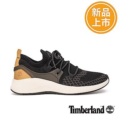 Timberland 男款FlyRoam黑色編織運動鞋