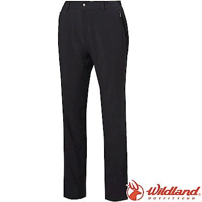 Wildland 荒野 S1383-99深霧灰 女四向彈性抗UV休閒長褲