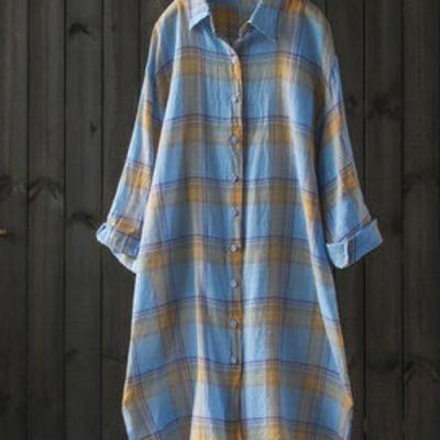 輕薄透氣經典格子遮陽防曬衣襯衫外套-設計所在