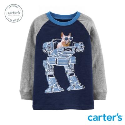 Carter s台灣總代理 機器犬警造型長袖上衣