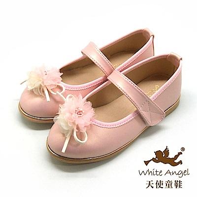 天使童鞋 艾蜜莉天使公主鞋 J8004-08 粉
