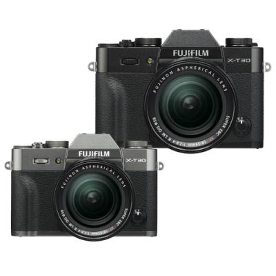 【快】FUJIFILM X-T30+18-55mm單鏡組*(中文平輸)