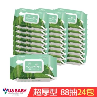 優生 純淨柔濕巾超厚型(88抽24包)