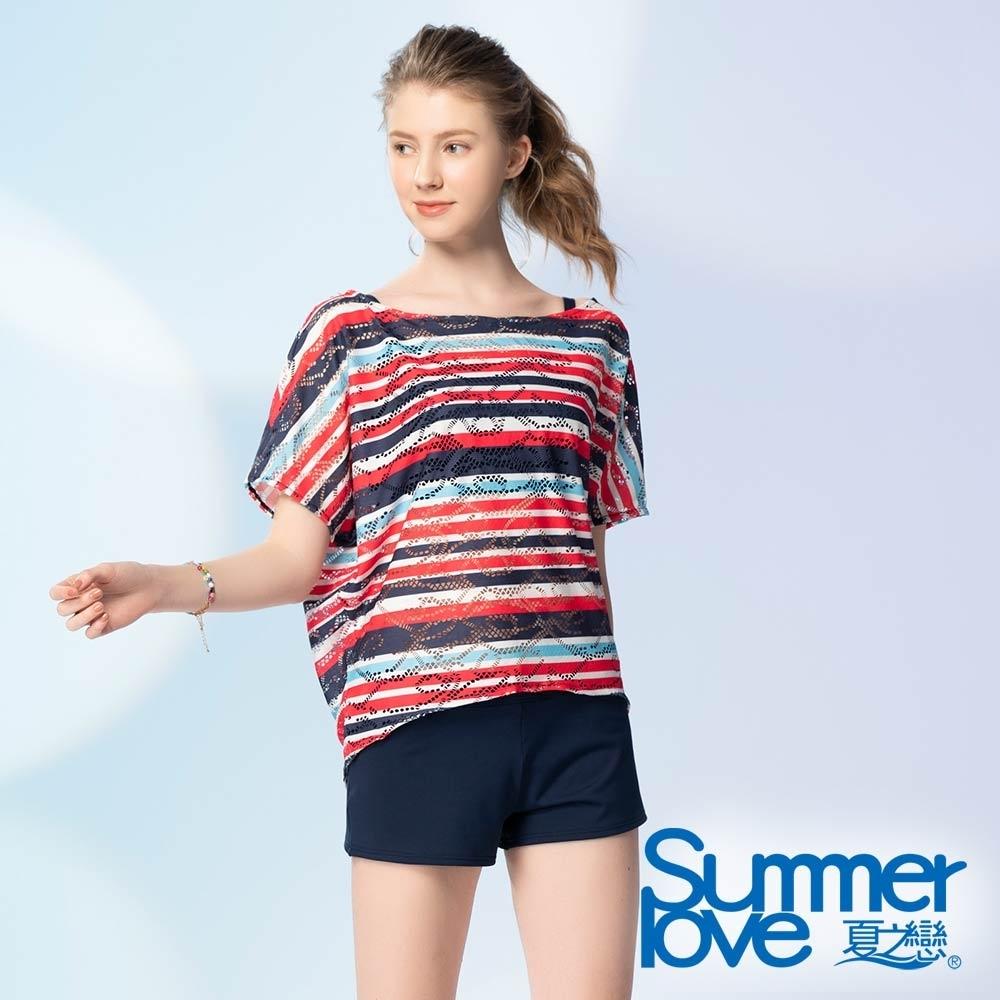 夏之戀SUMMERLOVE 連身褲四件式泳衣
