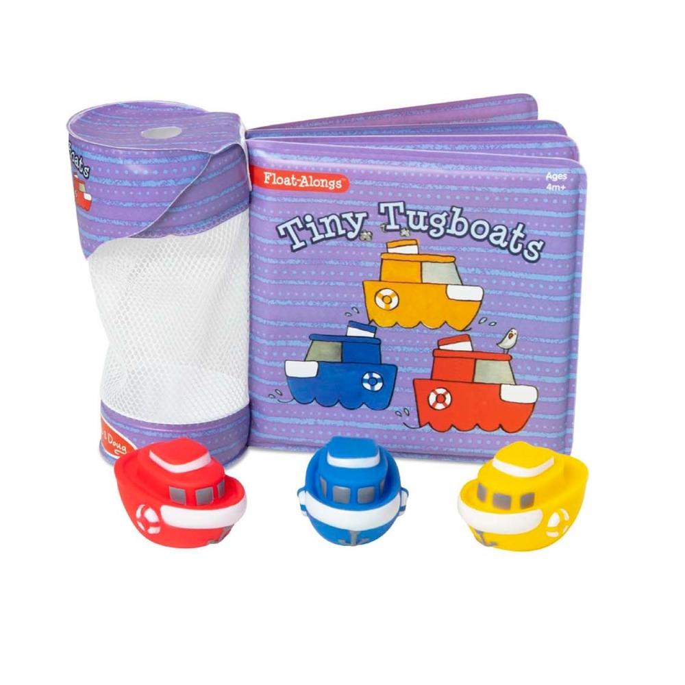 【Melissa & Doug 美國瑪莉莎】洗澡玩具書 - 小遊艇