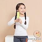 GIORDANO 男女童G-Warmer彈力舒適圓領極暖衣-01 標誌白