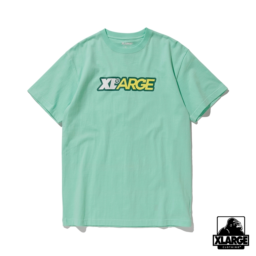 XLARGE S/S TEE FRESH 短袖T恤-亮綠
