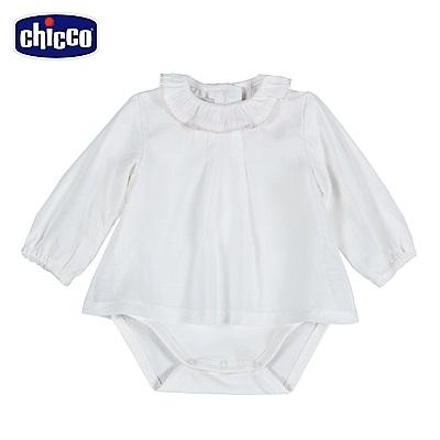 chicco-可愛動物系列-上衣式連身衣-米(12-24個月)