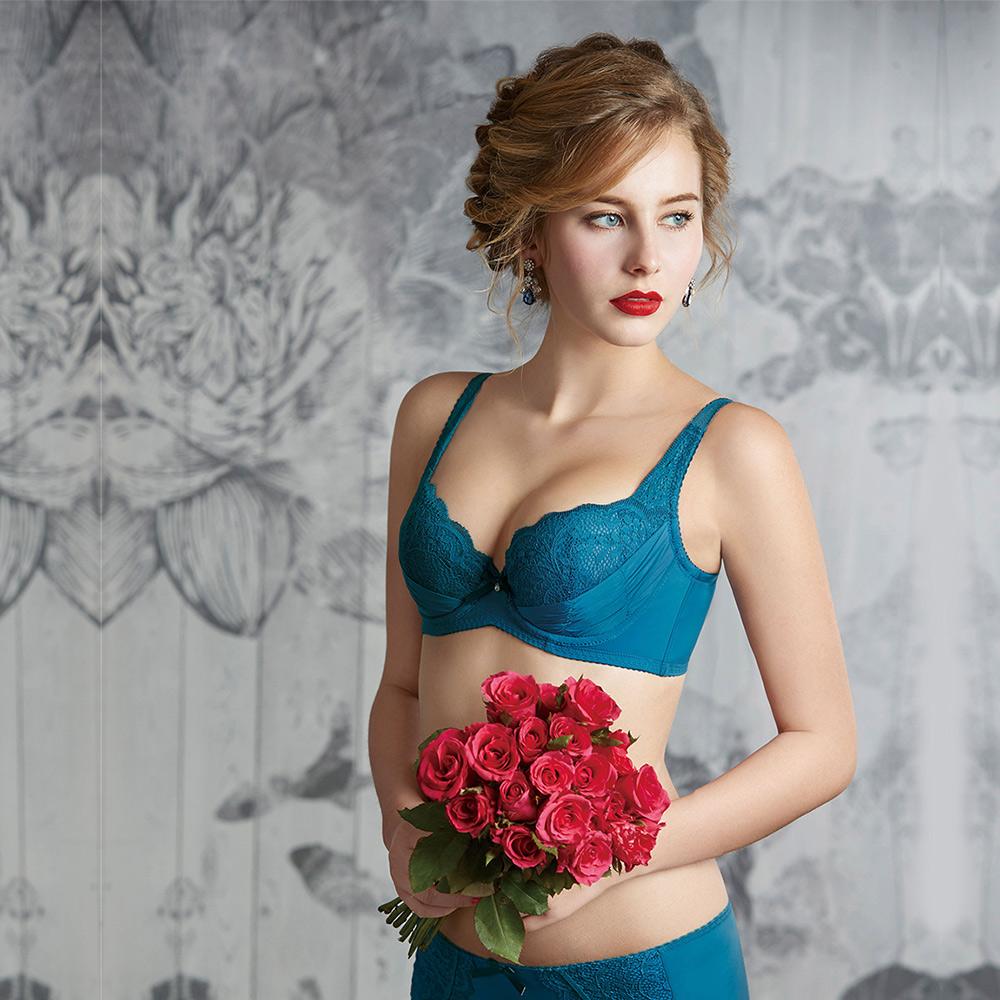 瑪登瑪朵 無敵美G內衣  B-D罩杯(古董藍)