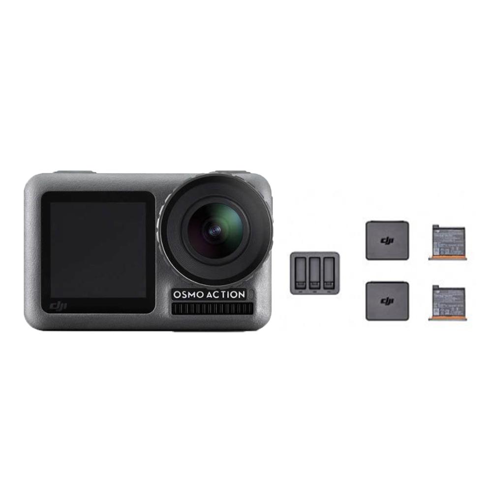 DJI OSMO ACTION 運動攝影機 + Action 充電管家套裝(飛隼公司貨)