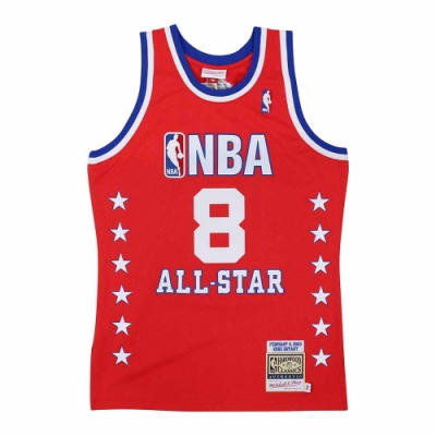 M&N Authentic球員版復古球衣 All-Star Game 2003 #8 Kobe Bryant