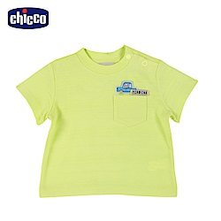chicco-車車旅遊趣-短袖上衣-綠