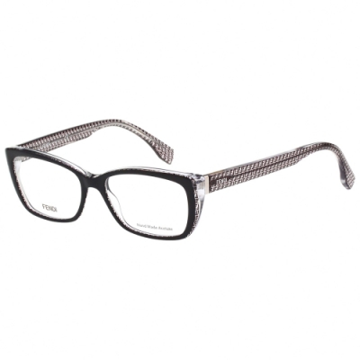 FENDI 經典LOGO 光學眼鏡(黑色)FF0003