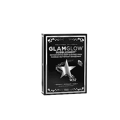 (買一送一)GLAMGLOW 活氧泡泡淨化面膜6片盒裝組
