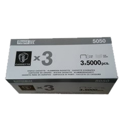 RAPID 瑞典 5050專用電動訂書針 5000針/盒(三入)