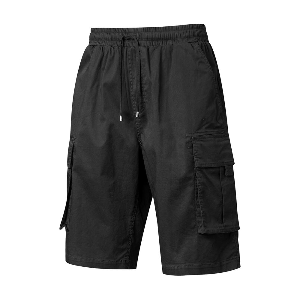 【PONY】多口袋工作短褲 男款 黑/灰綠/卡其色