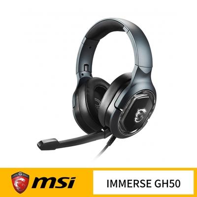 MSI 微星 IMMERSE GH50 電競耳機