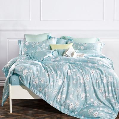 A-ONE 頂級天絲三件式-加大床包/枕套組-靜蜜