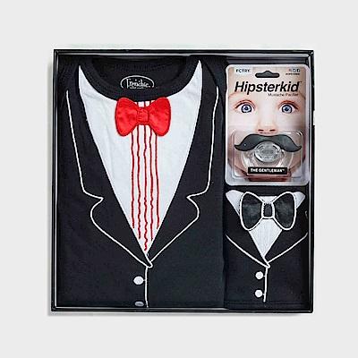 美國FMC X Hipsterkid 男嬰禮盒-小勞勃倒泥宴會版