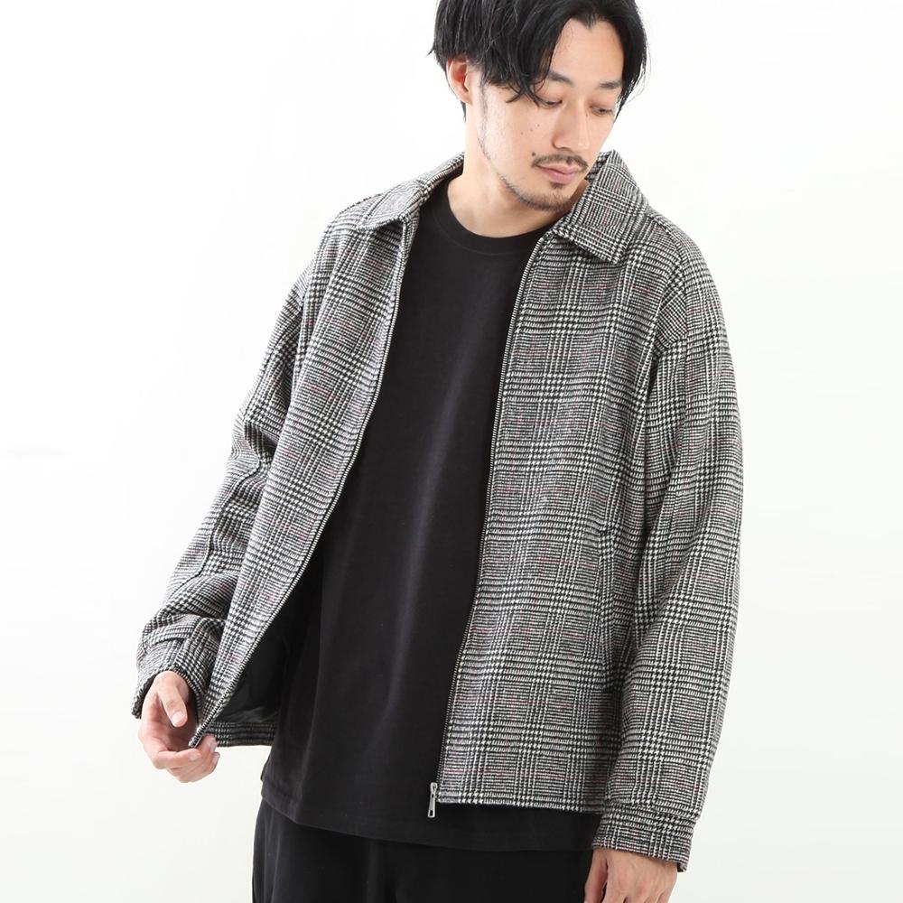 ZIP日本男裝 夾克外套羊毛高爾夫外套長袖(6色)