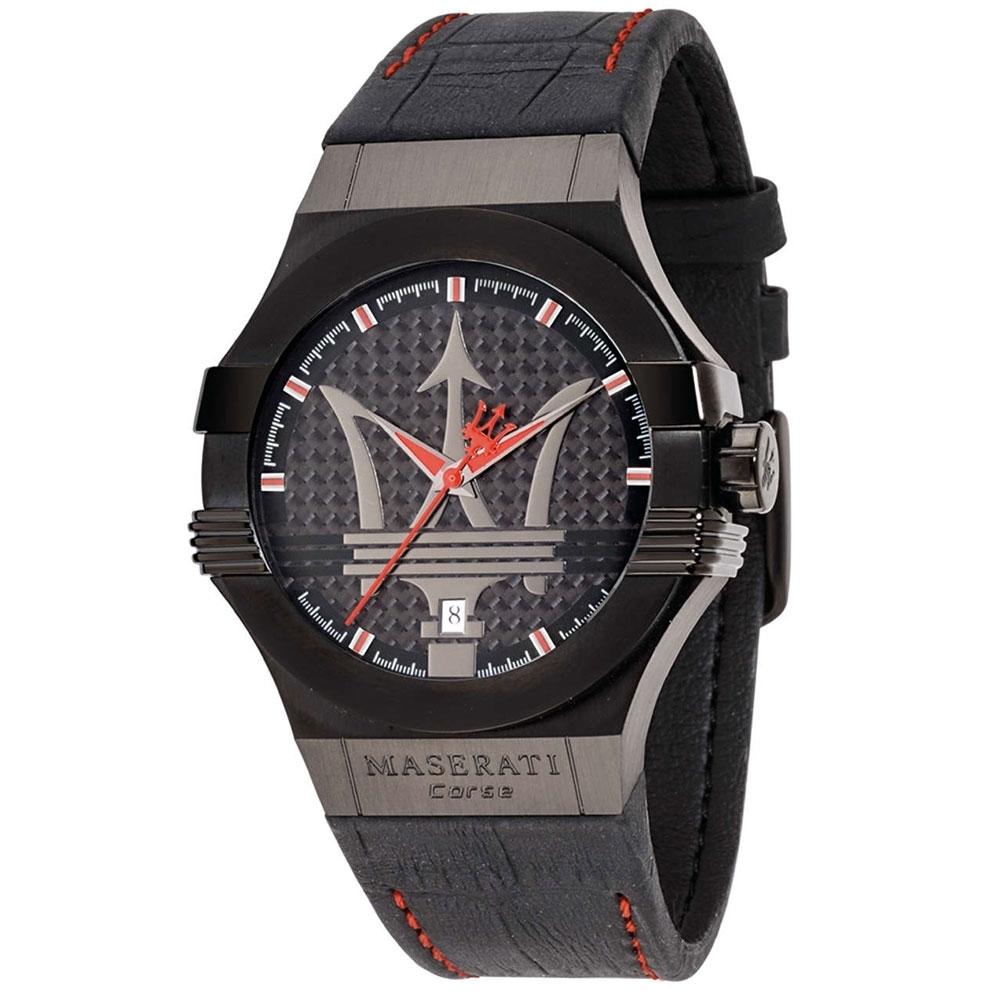 MASERATI 瑪莎拉蒂 POTENZA系列 R8851108010 大三針時尚腕錶
