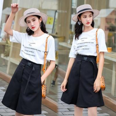 【韓國K.W.】(預購)優雅百搭時尚褲裙-1色