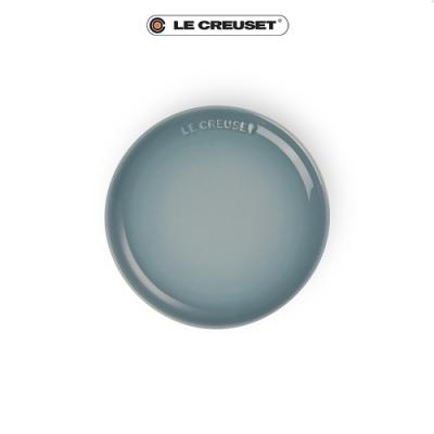 [任4件6折] LE CREUSET 瓷器花蕾系列餐盤17cm-海洋之花