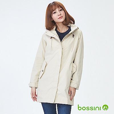 bossini女裝-多功能百搭長版外套03深褐