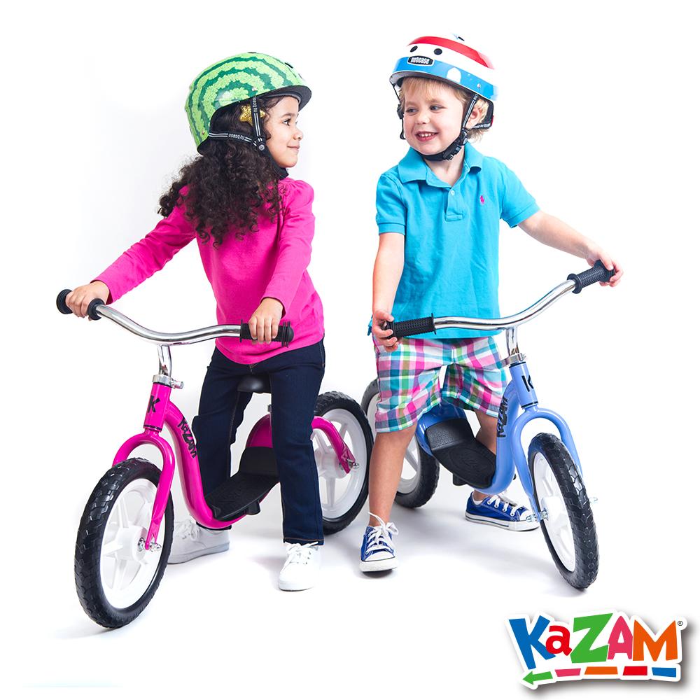 【美國 KAZAM】兒童平衡 發泡胎 學習最佳幫手(平衡滑步車)