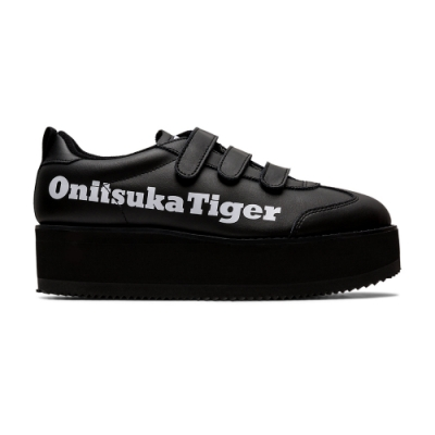 Onitsuka Tiger鬼塚虎-DELEGATION CHUNK W 休閒鞋 女 (黑)1182A207-007