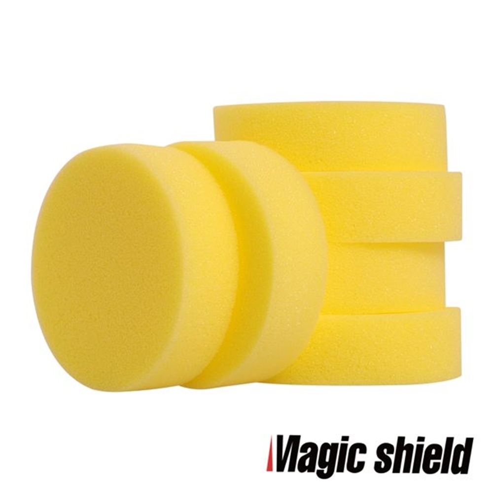 MagicShield 神盾 圓形洗車海綿 6入裝