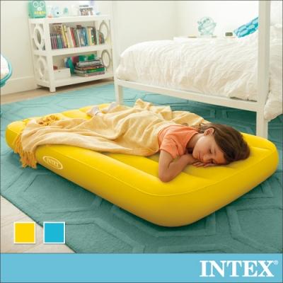 INTEX 兒童充氣床88x157x高18cm-2色可選(66803)