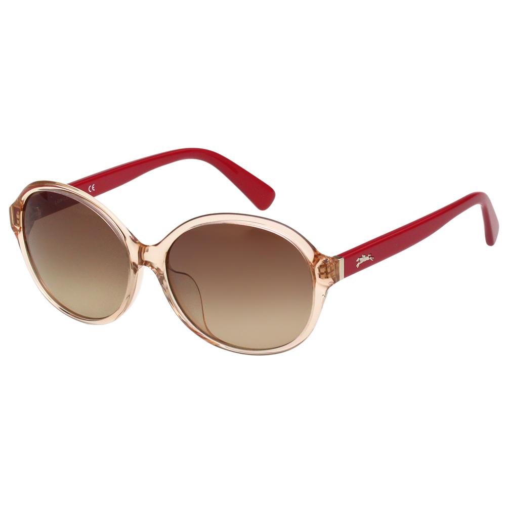 LONGCHAMP 太陽眼鏡 (透明粉色)LO620SA