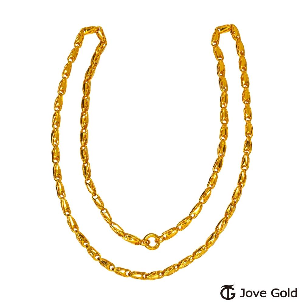 (無卡分期24期)Jove gold 牽繫黃金項鍊(約12.50錢)(約2尺/60cm)