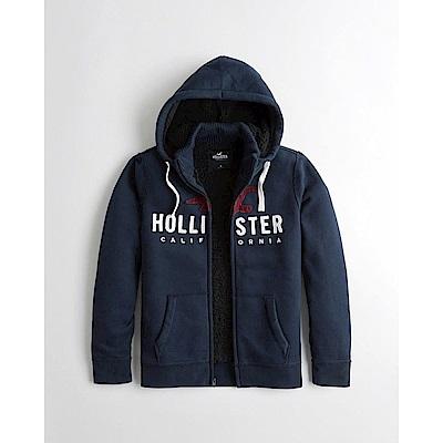 Hollister HCO 長袖 帽T 藍色 1142