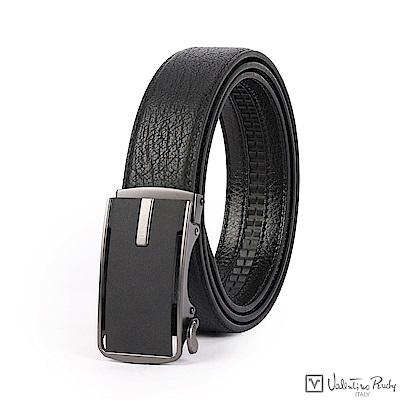 Valentino Rudy時尚男士自動扣牛皮皮帶腰帶-LB4718