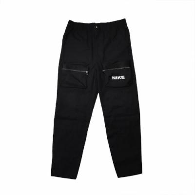 Nike 長褲 NSW City Made Woven 男款 運動休閒 大口袋 穿搭 防風 工裝 黑 白 DC6958010