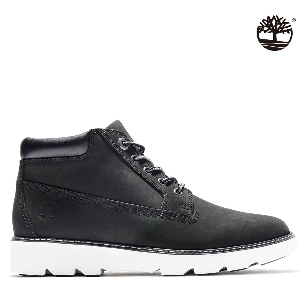 Timberland 女款黑色磨砂革休閒短靴 A26K9