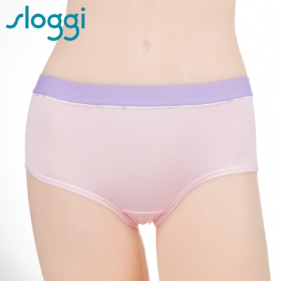 sloggi Dynamic運動平口內褲 M-EL 粉紫 Y87-1881P5