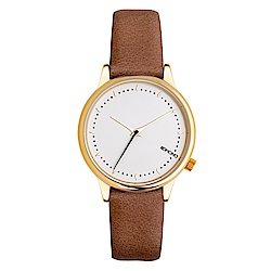 KOMONO Estelle 手錶-可可褐/36mm