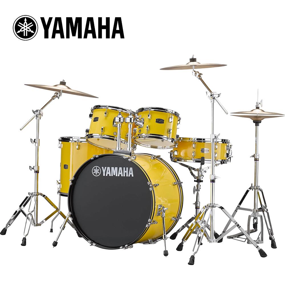 [無卡分期-12期] YAMAHA RYDEEN 傳統爵士鼓組 雅痞黃色款
