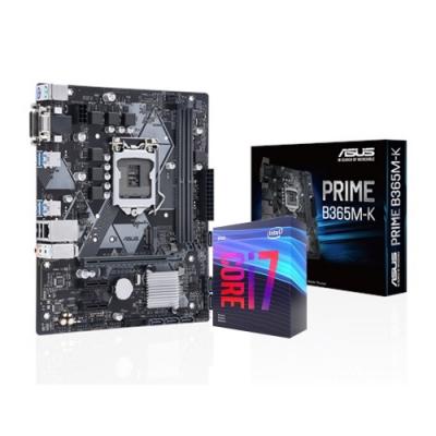 (無卡12期)華碩 PRIME B365M-K + i7-9700F 組合